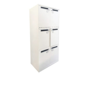 Casier blanc six cases – Occasion