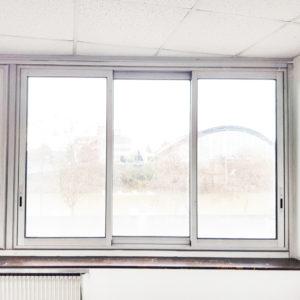 Fenêtre coulissante aluminium 3 vantaux – Occasion