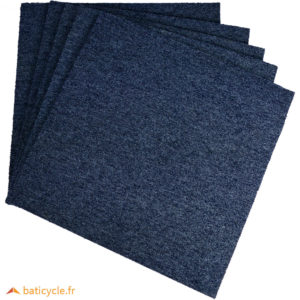 Dalle de moquette Heuga INTERFACE – Bleu gris – Occasion