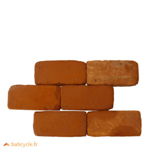Briques rouges RETRO – 21,5 cm – Occasion